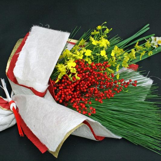 お正月の花束 14-WI-1